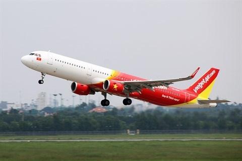 Vietjet propose 400.000 billets promotionnels sur ses vols internationaux hinh anh 1