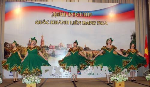 La fete nationale de la Russie celebree a Ho Chi Minh-Ville hinh anh 1