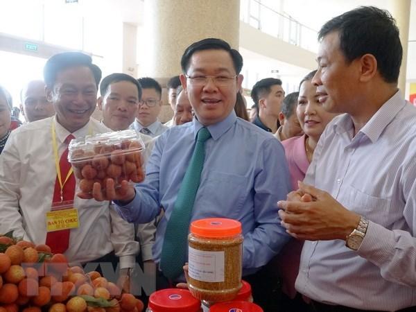 Forum sur le litchi et d'autres produits agricoles cles de Bac Giang hinh anh 1