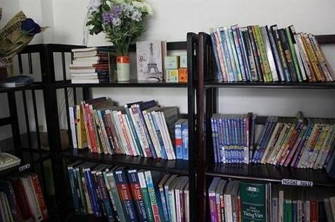 Hanoi: la bibliotheque gratuite de deux garcons de la generation 9X hinh anh 1