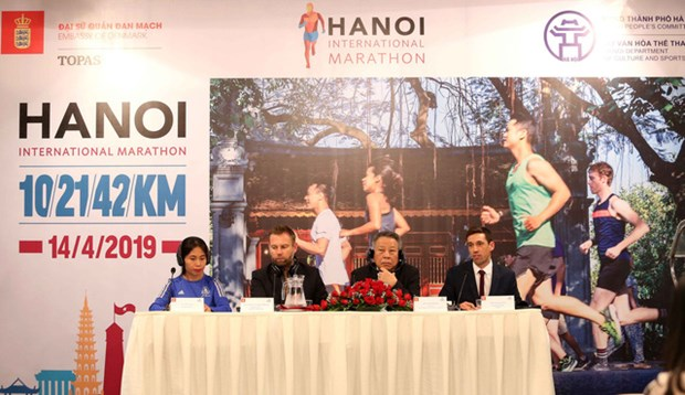 Le premier marathon international de Hanoi aura lieu en avril 2019 hinh anh 1