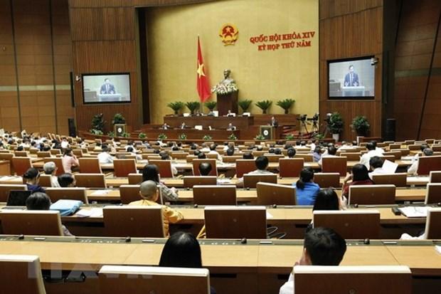 Cloture de la 5e session de la 14e legislature de l'AN hinh anh 1
