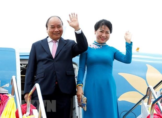 Le PM Nguyen Xuan Phuc commence a participer a l'ACMECS 8 et au CLMV 9  hinh anh 1