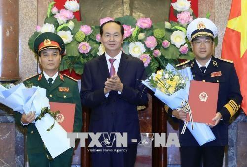 Le president de la Republique nomme un nouveau general de corps d'armee hinh anh 1