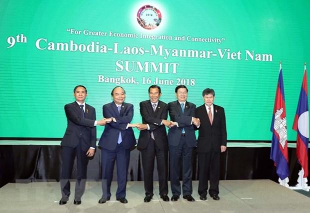 Le Cambodge, le Laos, le Myanmar et le Vietnam reunis en sommet a Bangkok hinh anh 1