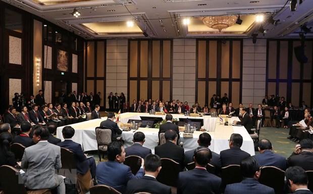 Le Vietnam exhorte a ameliorer la cooperation au sein de l'ACMECS hinh anh 1