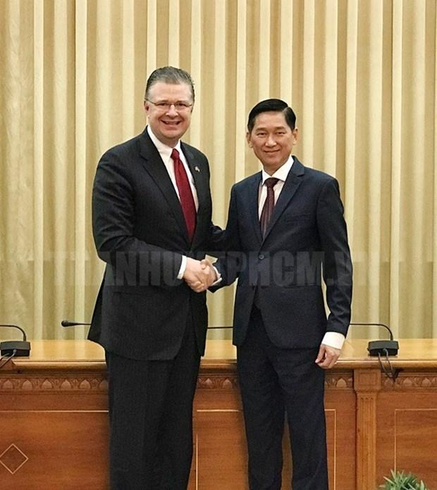 Ho Chi Minh-Ville et des entreprises americaines tissent des liens hinh anh 1