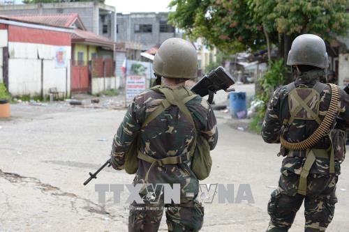 Conflit entre l'armee philippine et des membres de Maute hinh anh 1