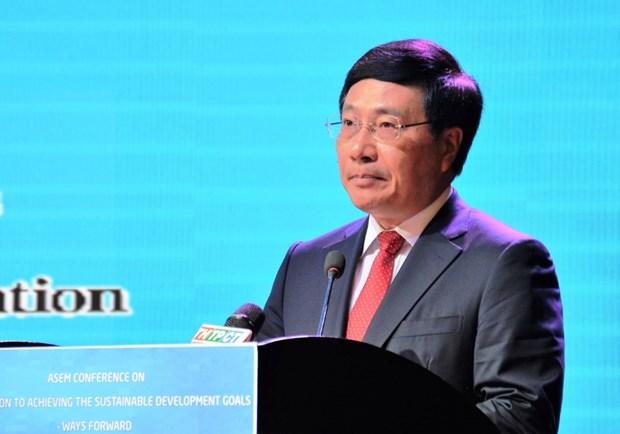 L'ASEM agit pour faire face au changement climatique hinh anh 1