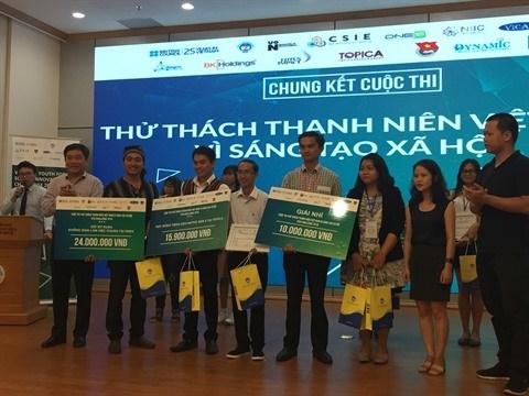 Remise des prix du concours de l'innovation sociale de la jeunesse hinh anh 1