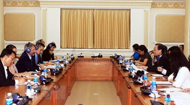 Ho Chi Minh-Ville met en oeuvre un projet de notation de credit hinh anh 1