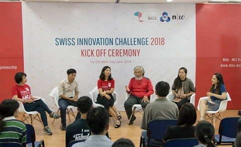 Lancement du concours Swiss Innovation Challenge 2018 hinh anh 1