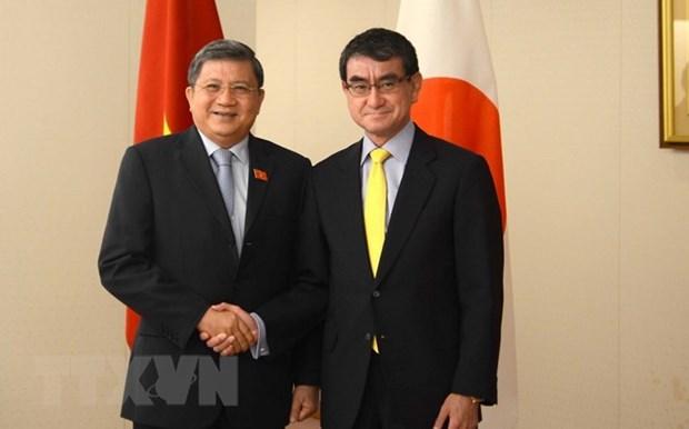 Vietnam-Japon: renforcement de la cooperaion legislative et promotion du CPTPP hinh anh 1