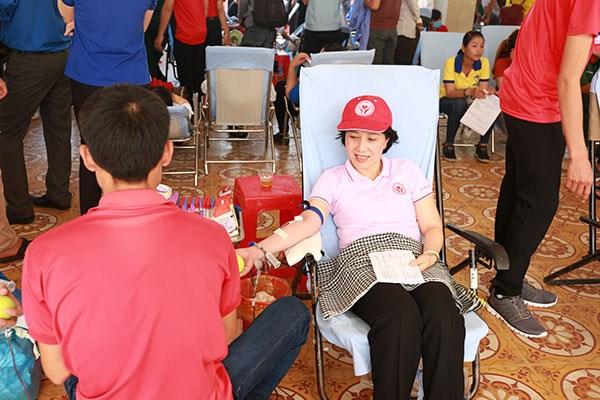 Itineraire rouge 2018 : pres de 1.500 unites de sang collectees a HCM-Ville hinh anh 1