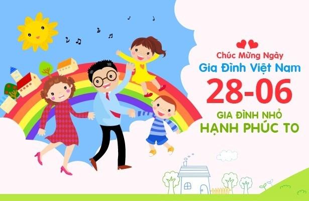 Journee de la famille vietnamienne : Famille, appui d'amour hinh anh 1