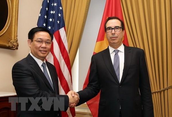 Les Etats-Unis attachent de l'importance aux relations d'amitie avec le Vietnam hinh anh 2