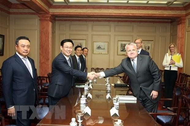Les Etats-Unis attachent de l'importance aux relations d'amitie avec le Vietnam hinh anh 1