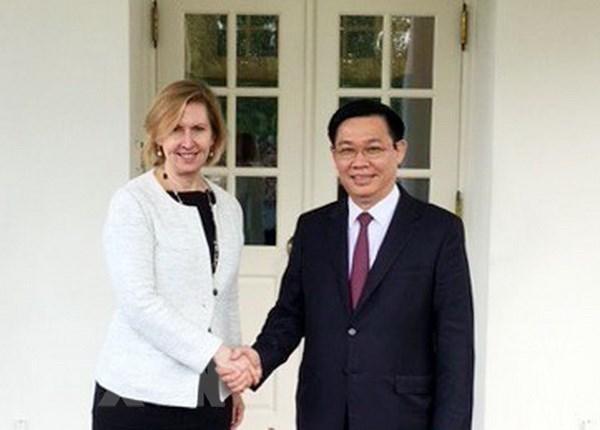 Les Etats-Unis attachent de l'importance aux relations d'amitie avec le Vietnam hinh anh 3