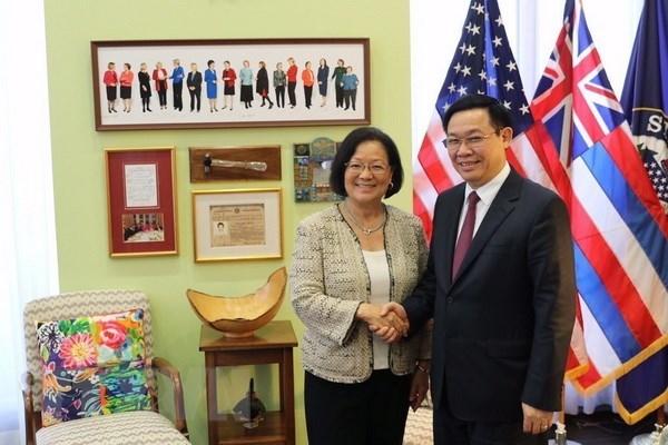 Les Etats-Unis attachent de l'importance aux relations d'amitie avec le Vietnam hinh anh 4