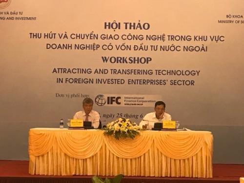 Les entreprises d'IDE appelees a intensifier les transferts de technologies hinh anh 1