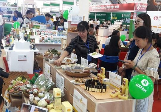 Ouverture de la foire-expo internationale de l'agriculture AgroViet 2018 a Da Nang hinh anh 1
