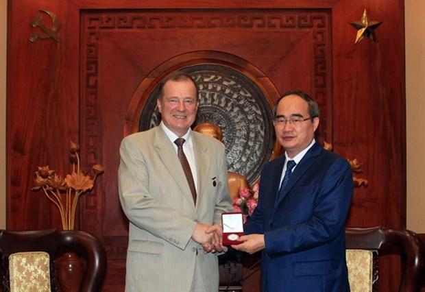 Ho Chi Minh-Ville et Saint-Petersbourg cultivent leurs liens hinh anh 1