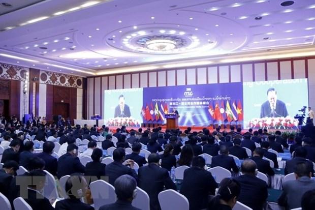 Le sommet des medias de la cooperation Mekong-Lancang s'ouvre au Laos hinh anh 1