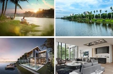 Hanoi: les villas insulaires de l'Ecopark mises en vente hinh anh 1