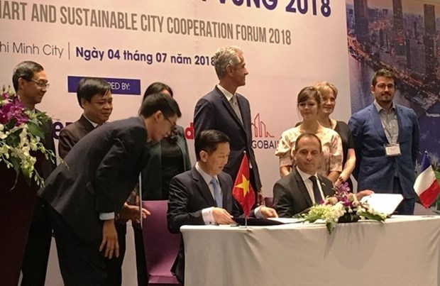 Forum de cooperation Vietnam-France sur la zone urbaine intelligente et durable hinh anh 1