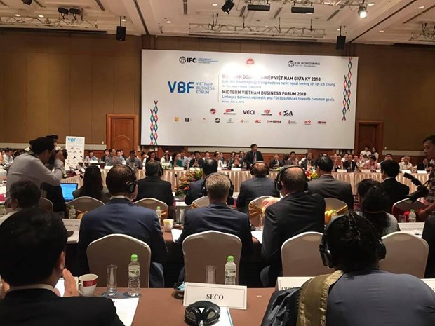 Ouverture du Forum d'affaires du Vietnam hinh anh 1