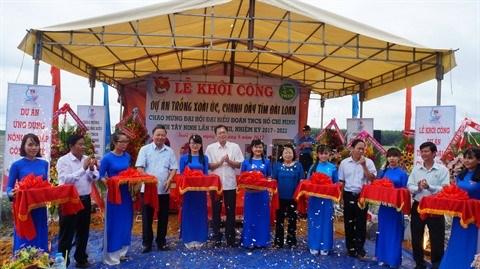 La mangue australienne et le fruit de la passion reunis sur le meme sol a Tay Ninh hinh anh 1