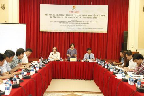 Promotion de la croissance verte dans le developpement urbain hinh anh 1