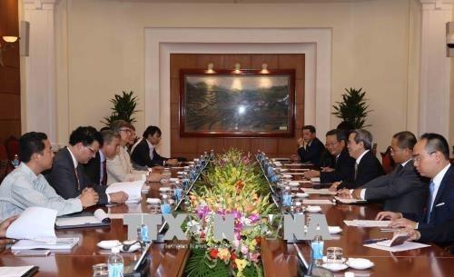 Le Vietnam souhaite recevoir le soutien continu du Consortium du VBF hinh anh 1