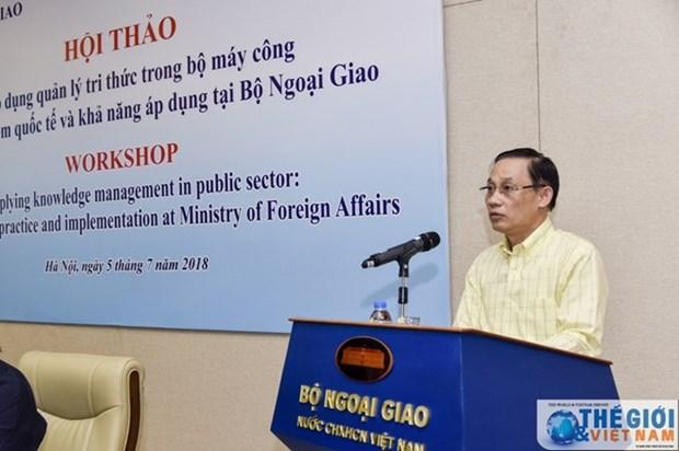Gestion des connaissances dans l'appareil d'Etat au Vietnam hinh anh 1