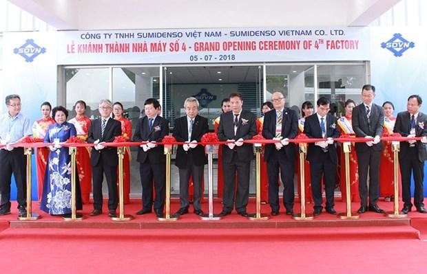 Sumidenso Vietnam inaugure sa 4e usine a Hai Duong hinh anh 1