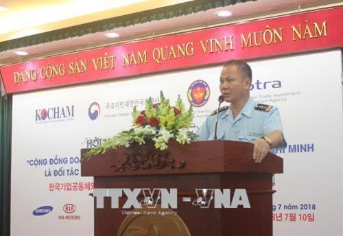 Dialogue entre le Departement des douanes de HCM-Ville et les entreprises sud-coreennes hinh anh 1