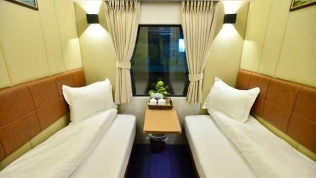 Des cabines de luxe a 2 lits dans des trains entre Hanoi-HCM-Ville hinh anh 1