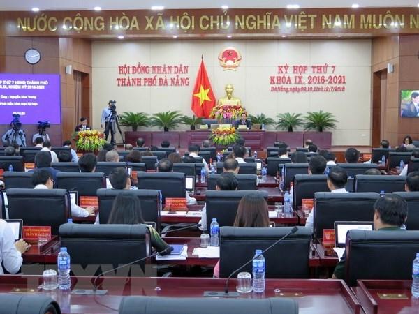 La 7e session du Conseil populaire municipal de Da Nang  hinh anh 1