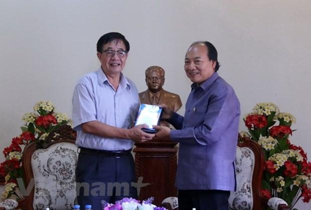 Remise au Laos d'un film a propos des liens entre le president Souphanouvong et le Vietnam hinh anh 1