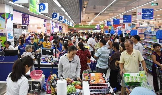 Ho Chi Minh-Ville : le chiffre d'affaires du commerce de detail et des services en hausse hinh anh 1