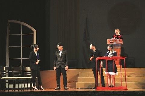 Initier les jeunes au theatre hinh anh 1