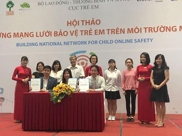 Microsoft aide le Vietnam a proteger les enfants dans le cyberespace hinh anh 1