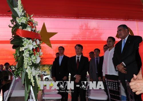 Activite en l'honneur du President Ho Chi Minh en Republique dominicaine hinh anh 1