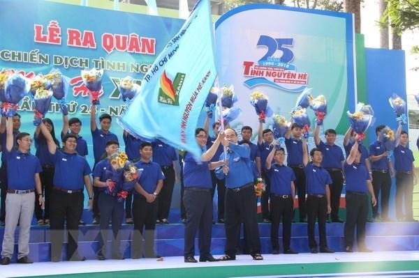 Lancement de la campagne de volontariat Ete vert a Ho Chi Minh-Ville hinh anh 1