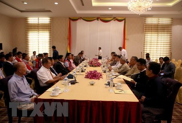 Myanmar : Nouvelles avancees lors de la Conference de paix de Panglong hinh anh 1