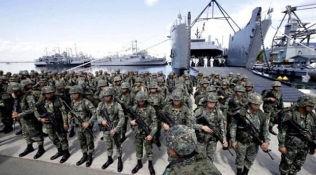 Les Philippines et l'Australie debutent des exercices maritimes conjoints hinh anh 1