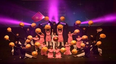 Danse: le groupe vietnamien