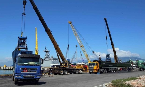 Premier semestre : plus de 254 millions de tonnes de marchandises via les ports maritimes hinh anh 1