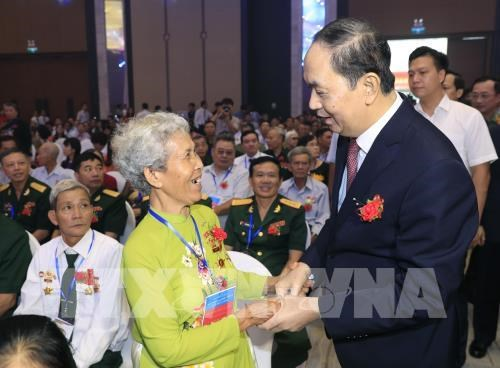 Conference nationale pour les personnes meritantes a Ba Ria-Vung Tau hinh anh 1