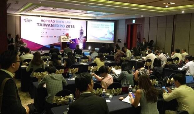 Exposition taiwanaise sur la technologie intelligente a Ho Chi Minh-Ville hinh anh 1